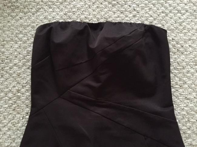 The Limited Brown Strapless Pockets Dress
