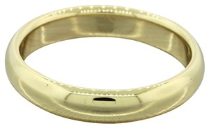 Tiffany & Co 18k Solid Yellow Gold 4mm Wedding Band Ring