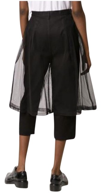 Item - Black With Tulle Overlay Pants Size 4 (S, 27)