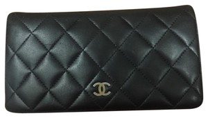 Chanel Chanel Quilted L-Yel Wallet