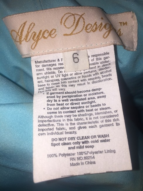 Alyce Paris Dress