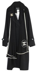Chanel Long Size 40 Coat