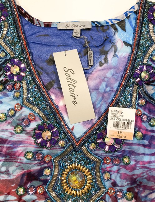 Solitaire Blouse New With Tags Tunic Image 4