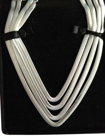 Preload https://item3.tradesy.com/images/bella-and-chloe-sterling-silver-new-20-inch-snake-38-inch-wide-with-large-lobster-claw-clasp-buy-thi-2237777-0-0.jpg?width=440&height=440