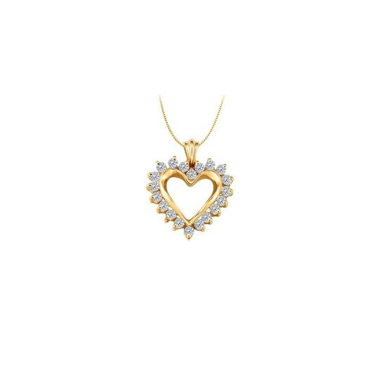 Preload https://img-static.tradesy.com/item/22377800/white-yellow-april-birthstone-cz-heart-pendant-sterling-silver-with-gold-necklace-0-0-540-540.jpg