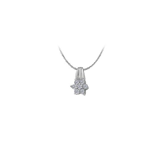 Preload https://img-static.tradesy.com/item/22378019/white-silver-cubic-zirconia-floral-pendant-in-sterling-amazing-set-necklace-0-0-540-540.jpg