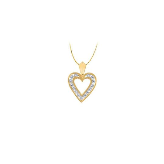 Preload https://img-static.tradesy.com/item/22378074/white-yellow-april-birthstone-cz-heart-pendant-sterling-silver-with-gold-vermeil-necklace-0-0-540-540.jpg