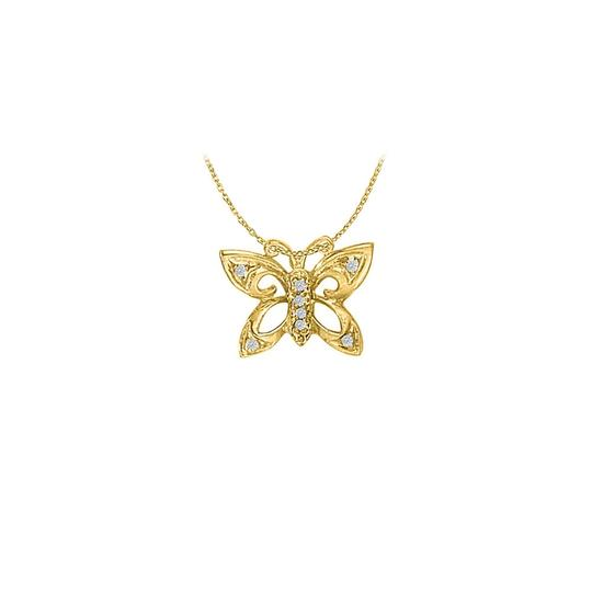 Preload https://img-static.tradesy.com/item/22378126/white-yellow-cubic-zirconia-butterfly-pendant-in-gold-vermeil-necklace-0-0-540-540.jpg