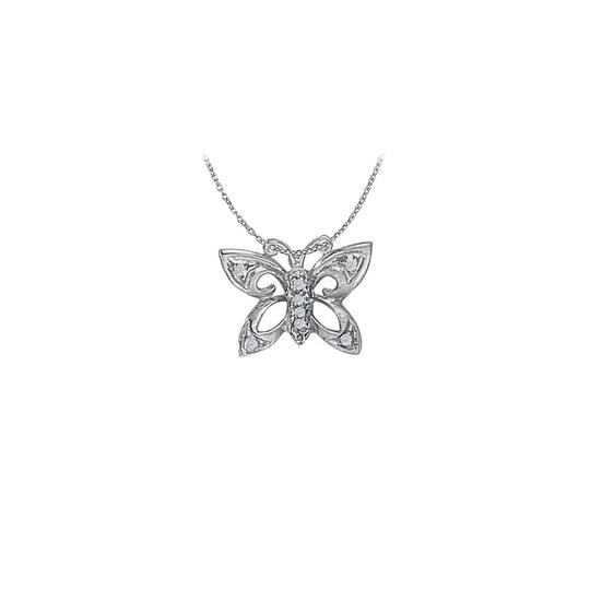 Preload https://img-static.tradesy.com/item/22378133/white-silver-stunning-cubic-zirconia-butterfly-pendant-in-sterling-necklace-0-0-540-540.jpg