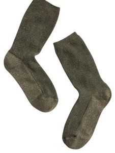Madewell Madewell sheer night sparkle trouser socks