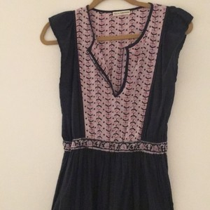navy multi Maxi Dress by Ulla Johnson