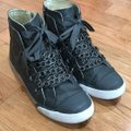 UES Chain Leather Grey Athletic