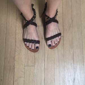 Cocobelle chocolate brown Sandals