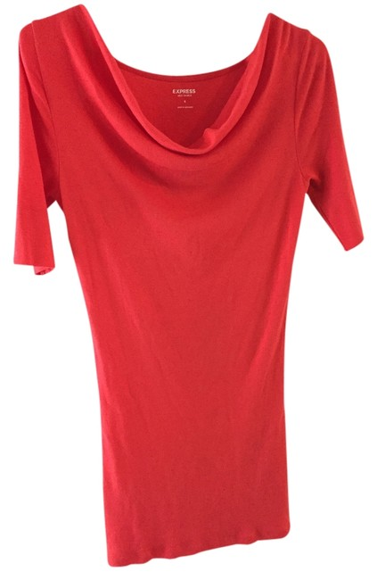 Preload https://item4.tradesy.com/images/express-dress-bright-coral-2237913-0-0.jpg?width=400&height=650
