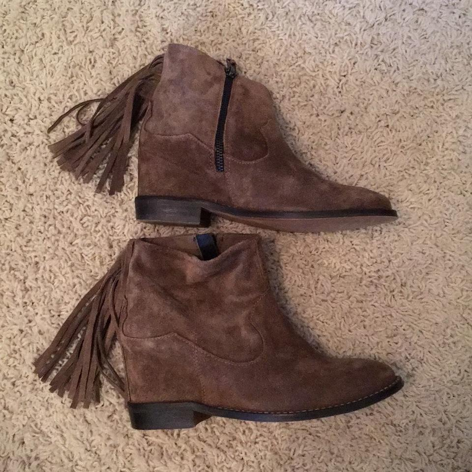 WOMENS Taupe Suede Boots/Booties Boots/Booties Suede German Outlets dc1f81