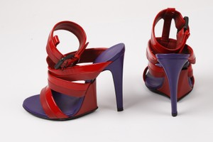 Bottega Veneta Strappy Multicolor Sandals