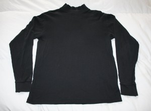 Lands' End Mock Turtleneck Sweater