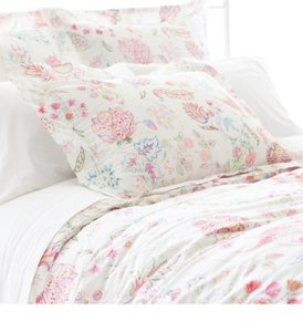 Pine Cone Hill White ***new*** Mirabelle Full/Queen Duvet Cover Other