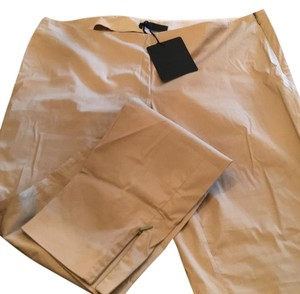 CoSTUME NATIONAL Skinny Pants beige cotton stretch