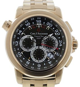 Carl F. Bucherer Carl F Bucherer Rose Gold TravelTec Watch