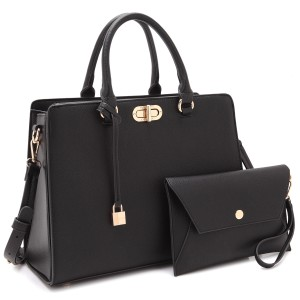 Anais Gvani Bags The Treasured Hippie Classic Designer Handbags Affordable High Quality Satchel in Black