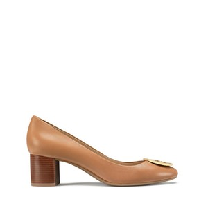 Tory Burch Royal Tan/Gold Pumps