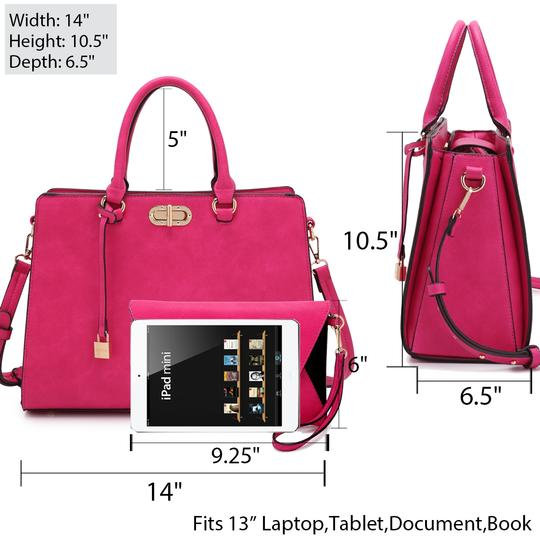 Anais Gvani Bags The Treasured Hippie Classic Designer Handbags Affordable High Quality Satchel in Pink Image 2
