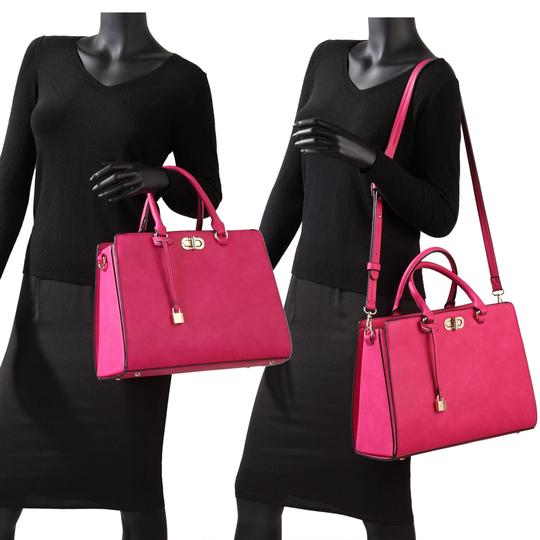 Anais Gvani Bags The Treasured Hippie Classic Designer Handbags Affordable High Quality Satchel in Pink Image 4