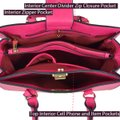 Anais Gvani Bags The Treasured Hippie Classic Designer Handbags Affordable High Quality Satchel in Pink Image 6