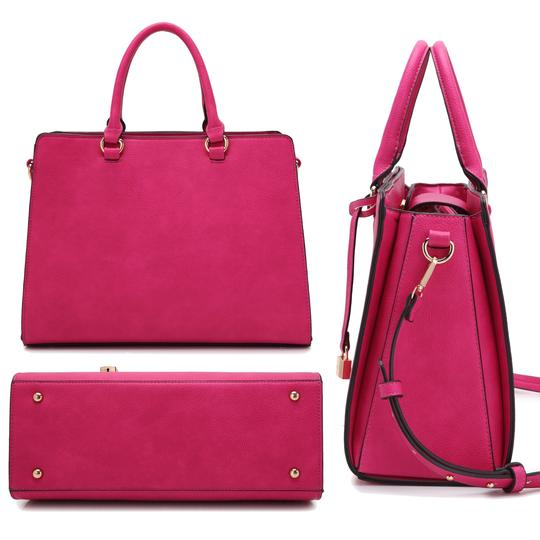 Anais Gvani Bags The Treasured Hippie Classic Designer Handbags Affordable High Quality Satchel in Pink Image 7