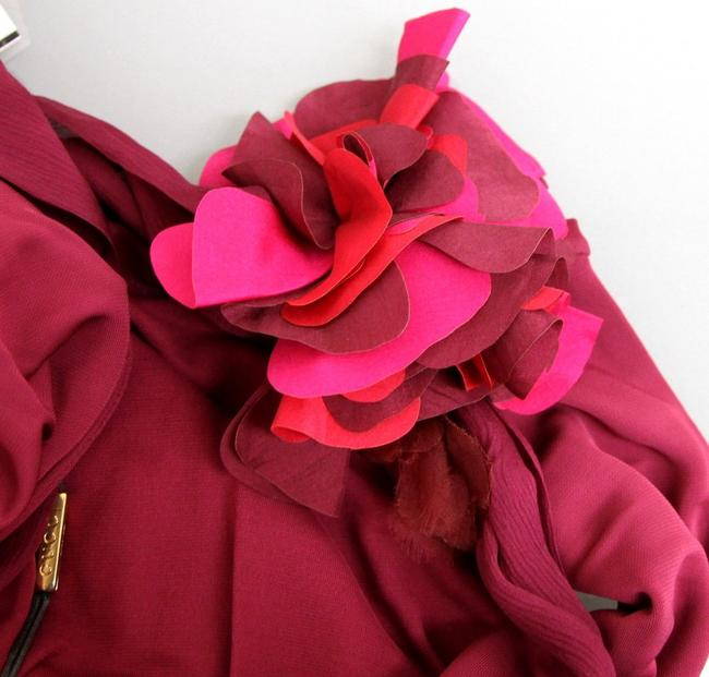 Gucci Runway Flower Scarf Dress Image 7