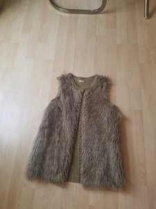 Eyeshadow Fur Faux Fur Fur Vest
