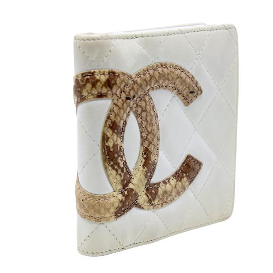 Chanel Limited Edition Cc Quilted Cambon Python Lambskin Leather Travel Image 1