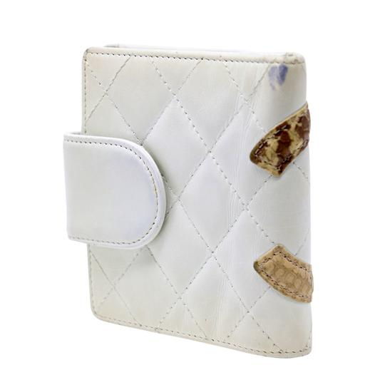 Chanel Limited Edition Cc Quilted Cambon Python Lambskin Leather Travel Image 2
