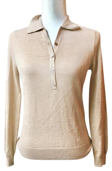 Preload https://img-static.tradesy.com/item/22380885/brooks-brothers-cream-essential-collared-xs-blouse-size-2-xs-0-1-650-650.jpg