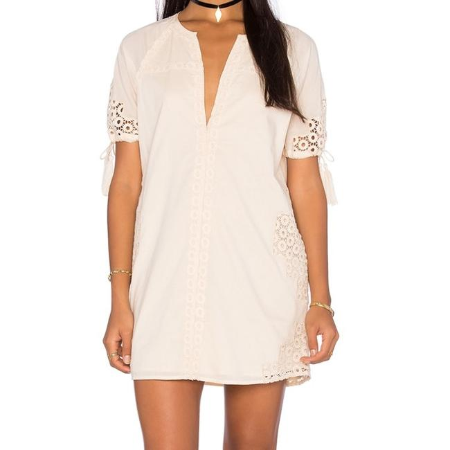Item - Off White Bobbie Dress Tunic Size 4 (S)