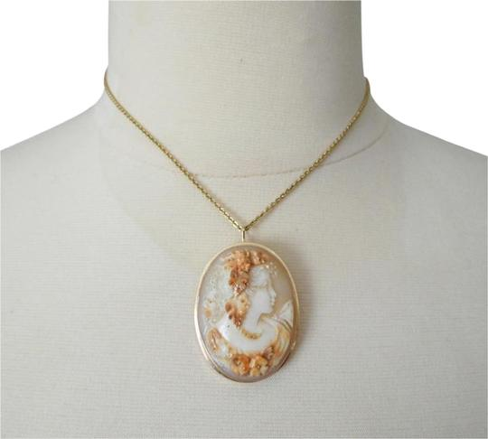 "AMEDEO M&M Scognamiglio 45mm Triple Carved ""Lady with Garlands"" Cameo"