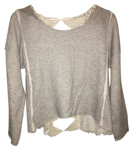 Free People Cut-out Hi Lo Sweater