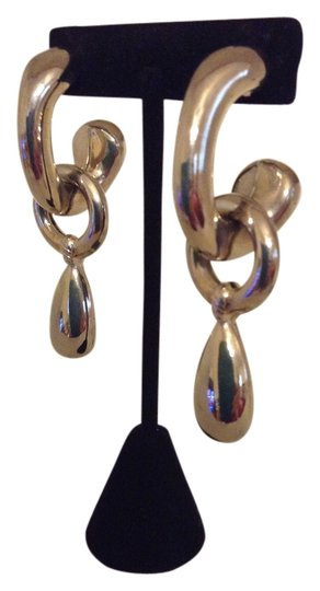Accessory Lady Silver Dangle Pierced Earrings