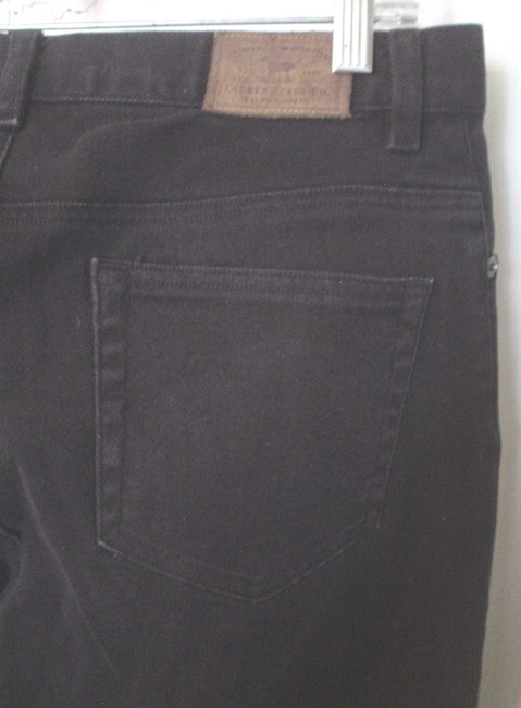 Lauren Jeans Company Co Denim Casual Work Style Size 8 M Ralph Boot Cut Jeans-Coated Image 4