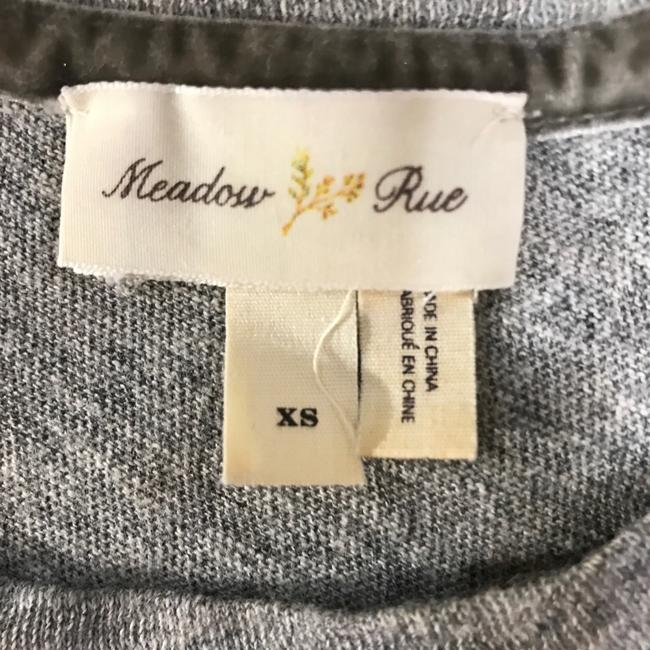 Anthropologie Top gray taupe cream brown Image 2