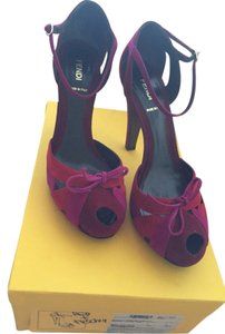 Fendi Red /fushia Sandals