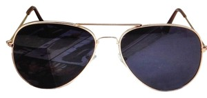 Other Police Style Sunglasses Dark Gray Aviator