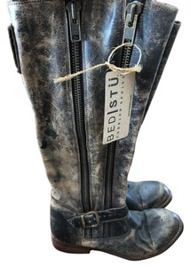 Bed Stü Brown distressed Boots
