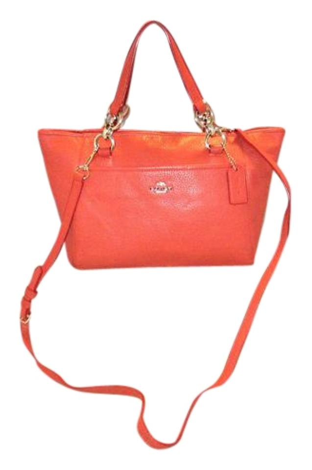 59e0529f1f7d Michael Kors Handbag 35030 Ellis Mini Tote Satchel Hobo Watermelon ...