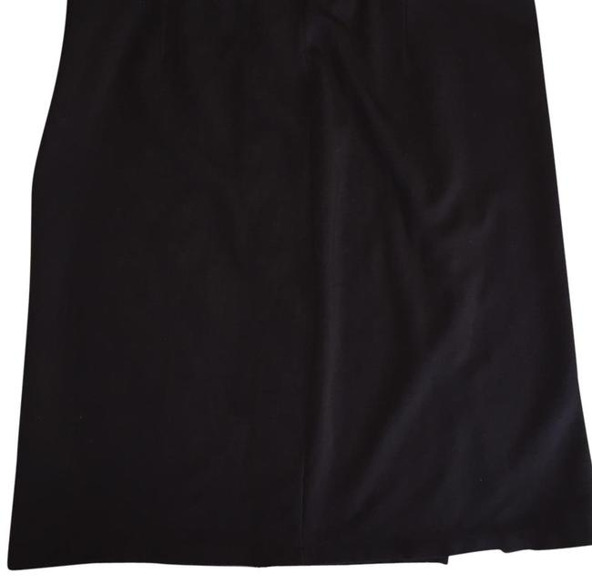 J.Crew Cotton Knit Short Skirt Black Image 0
