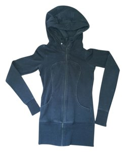 lulu Lululemon Long Hoodie Zip- Up Jacket