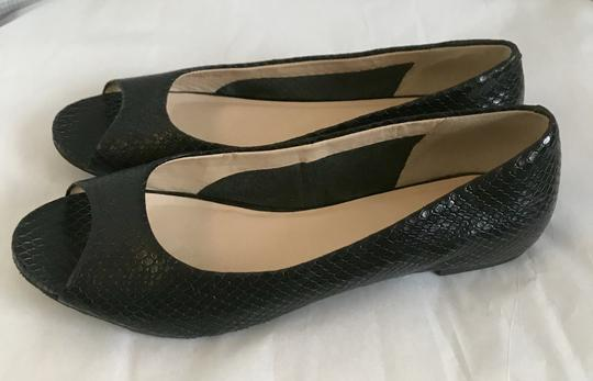 Preload https://img-static.tradesy.com/item/22382064/cole-haan-black-peep-toe-snakeskin-embossed-ballet-flats-size-us-75-regular-m-b-0-0-540-540.jpg