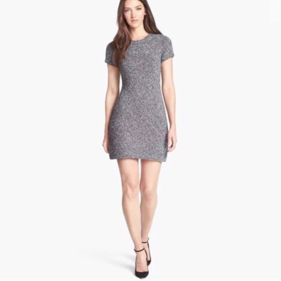 c1a48f81e2cd Theory Cecile Wool Sweater Short Casual Dress Size 4 (S) - Tradesy