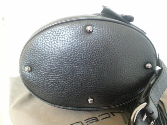Lancel Leather Bucket Hand Carry Chic Shoulder Bag Image 1